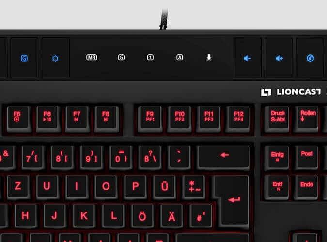 Lioncast LK15 Gaming Keyboard