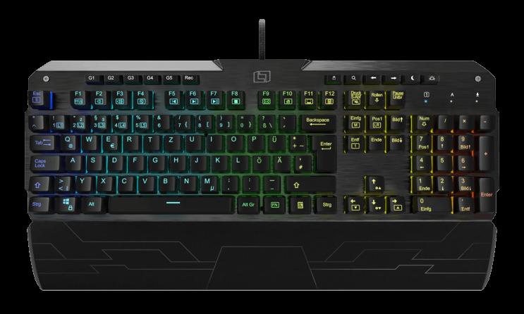 Lioncast LK300 RGB Gaming Tastatur